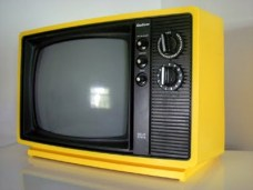 tv yellow